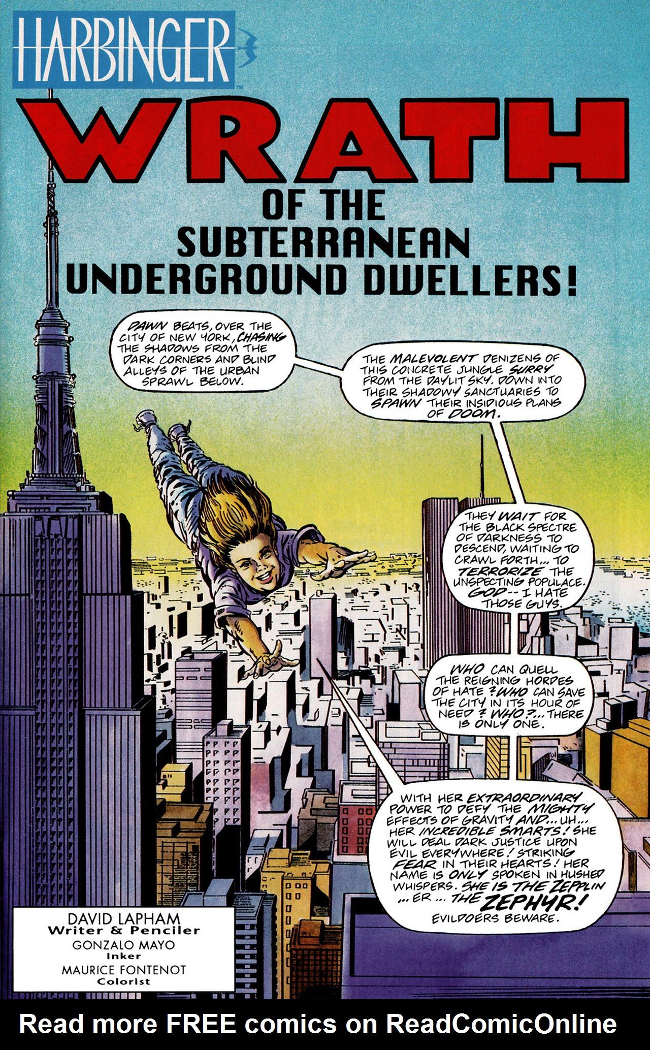Read online Harbinger (1992) comic -  Issue #13 - 2