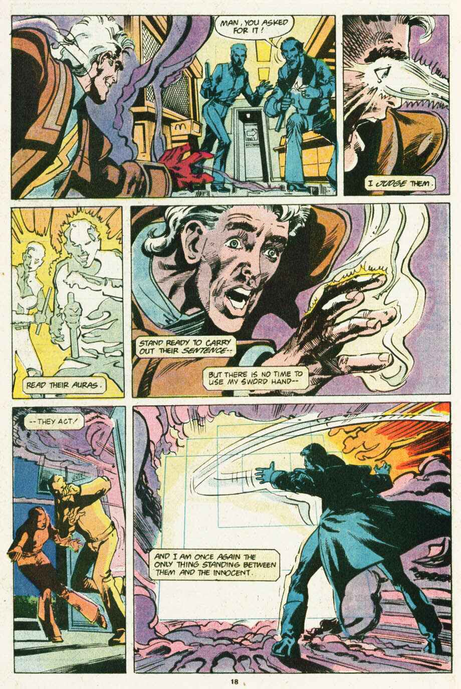 Read online Justice (1986) comic -  Issue #12 - 19