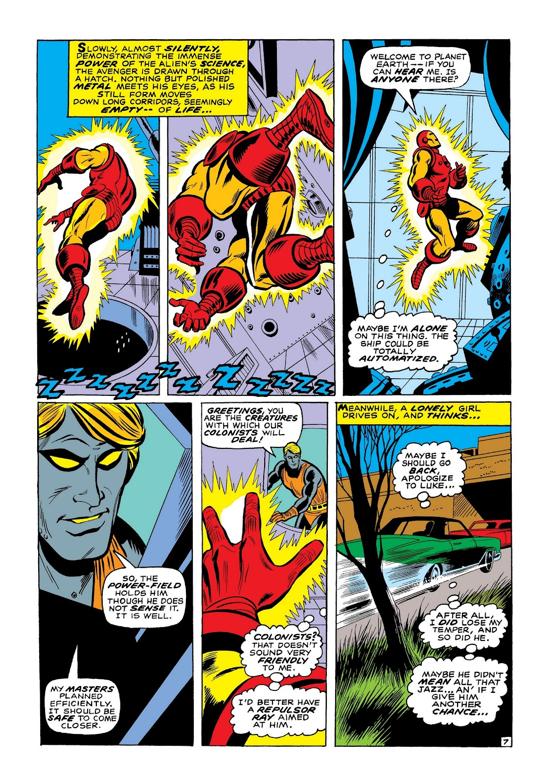 Read online Marvel Masterworks: The Invincible Iron Man comic -  Issue # TPB 7 (Part 2) - 36