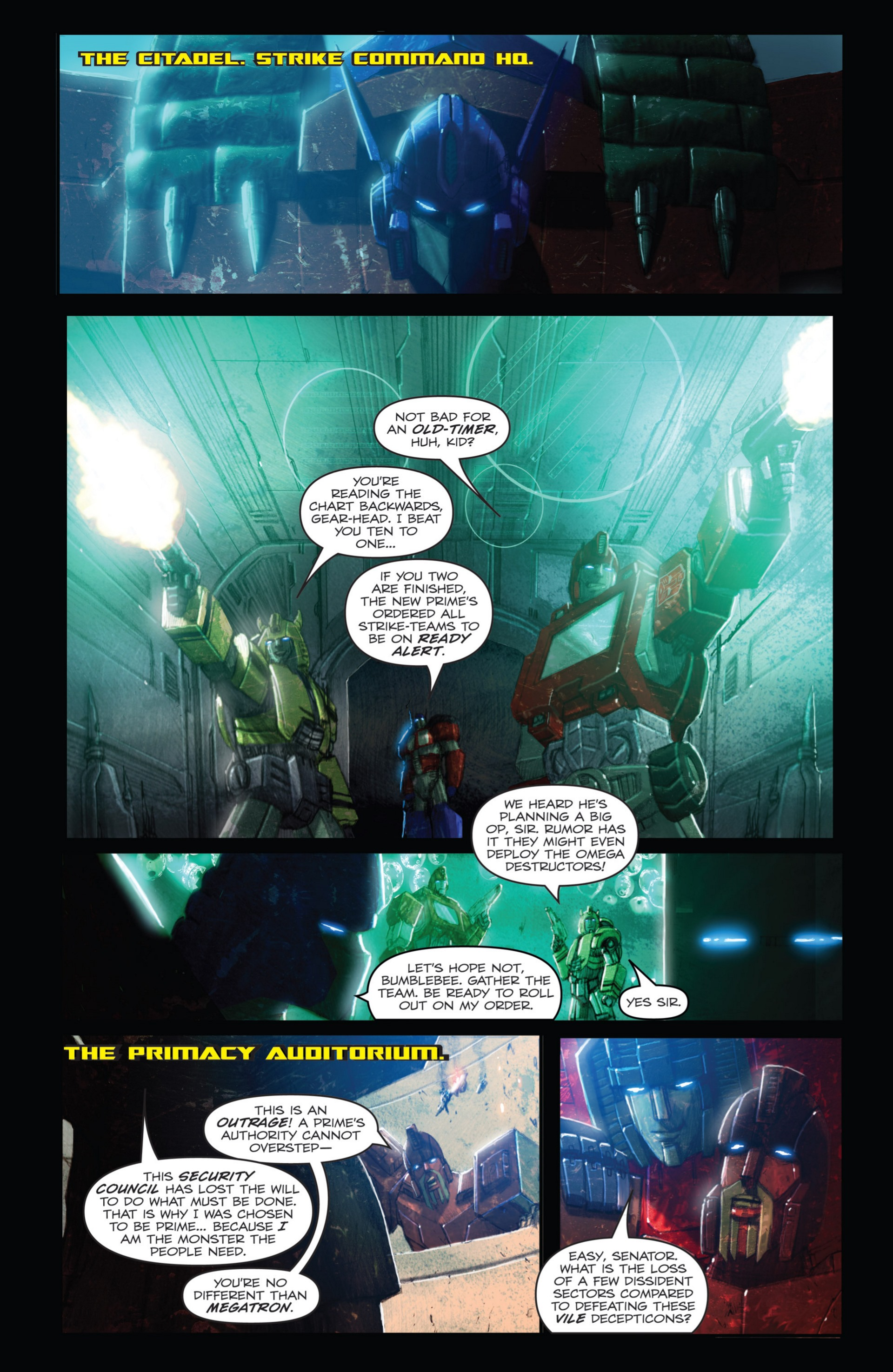 Read online Transformers: Autocracy comic -  Issue # Full - 22