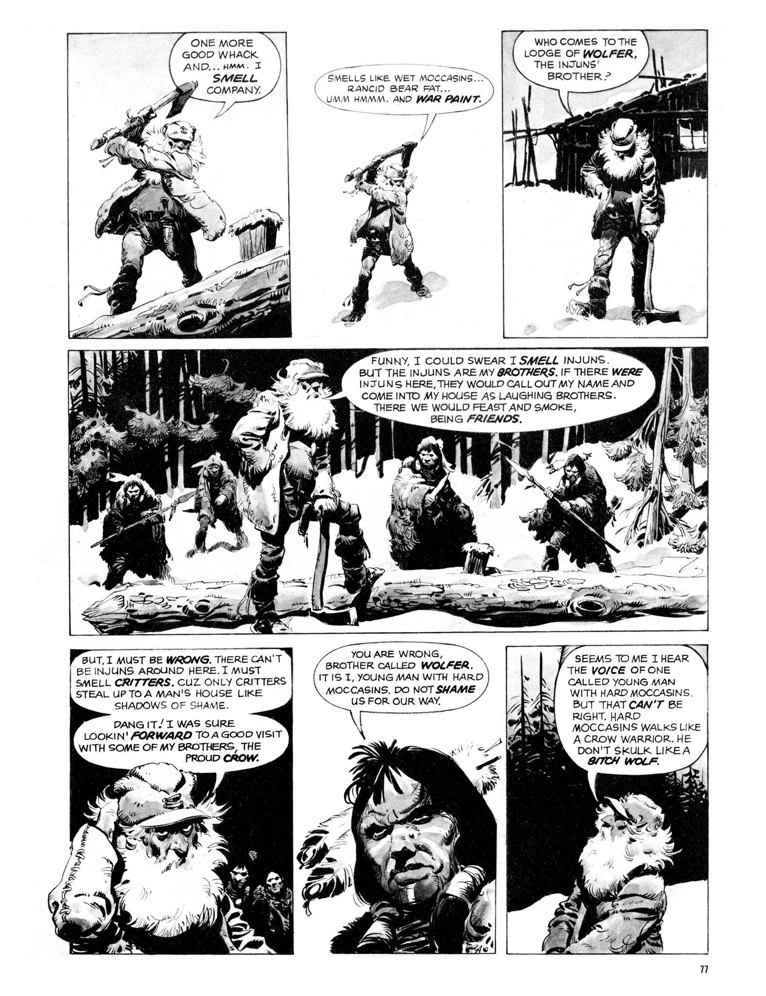 Read online Eerie Archives comic -  Issue # TPB 16 - 78