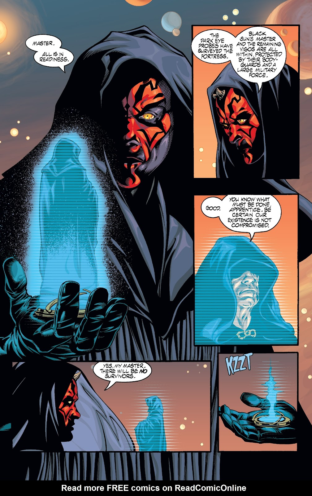 Read online Star Wars Legends: Rise of the Sith - Epic Collection comic -  Issue # TPB 2 (Part 2) - 96