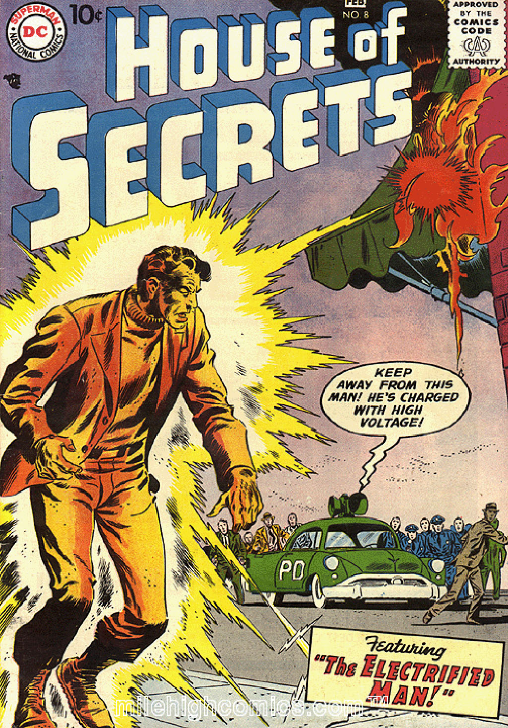 House of Secrets (1956) issue 8 - Page 1