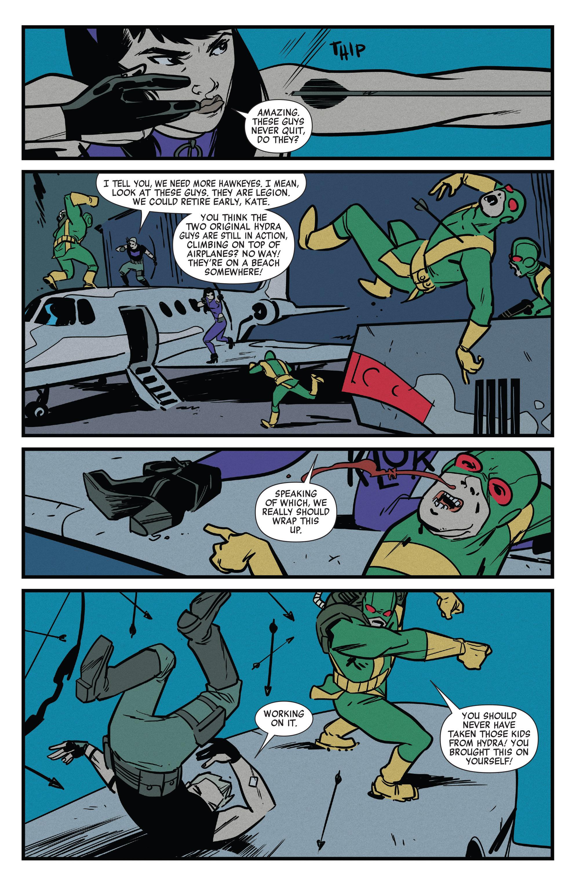 Read online All-New Hawkeye (2016) comic -  Issue #6 - 11