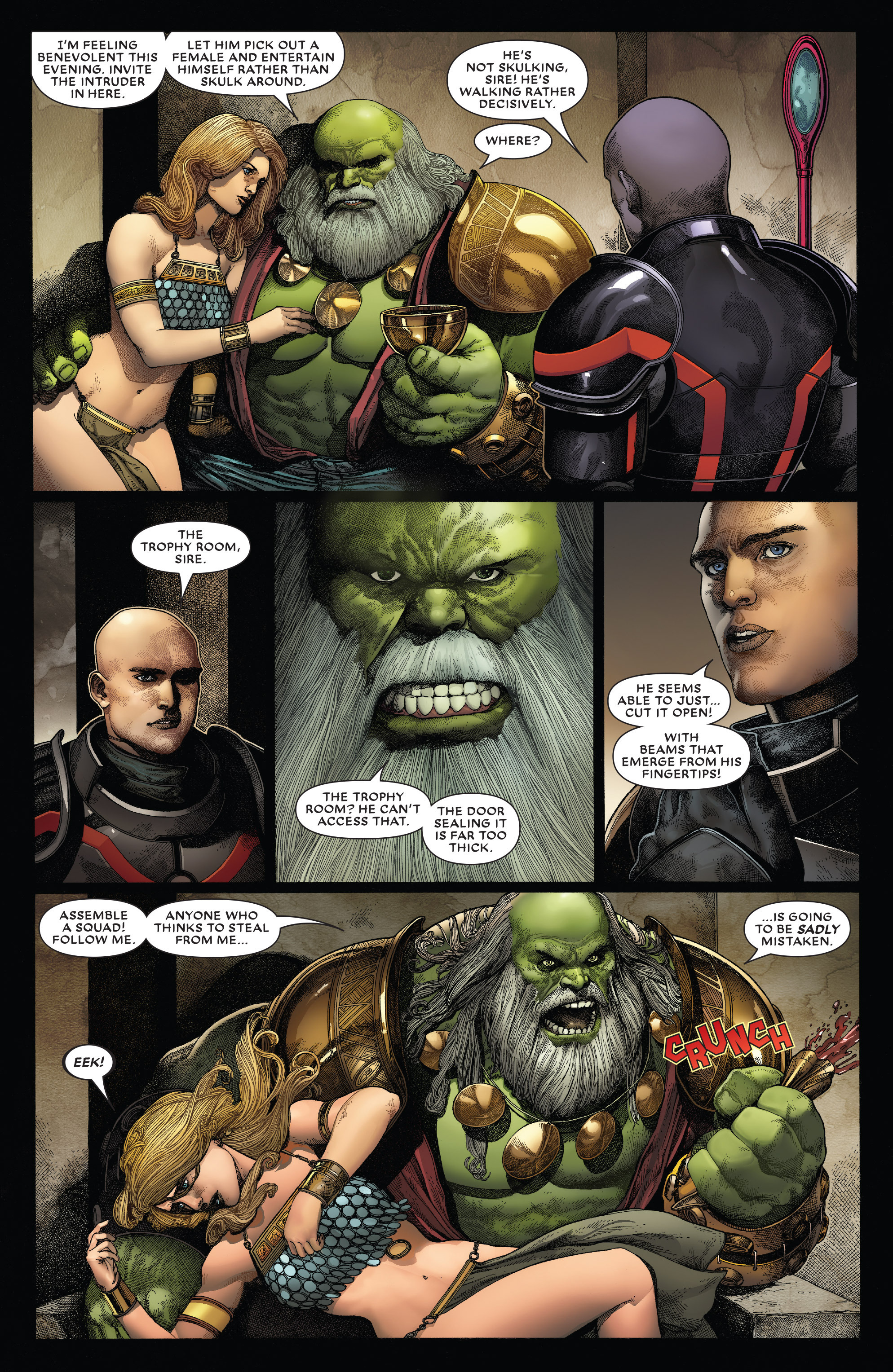 Read online Secret Wars: Battleworld comic -  Issue #4 - 13