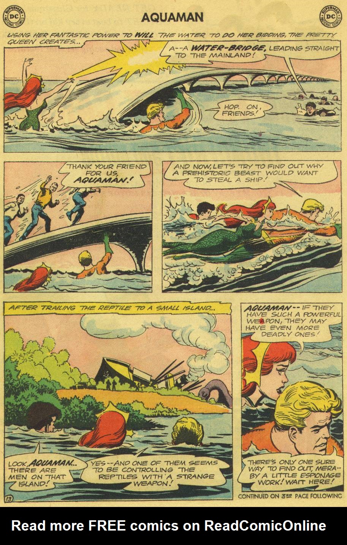 Read online Aquaman (1962) comic -  Issue #13 - 17
