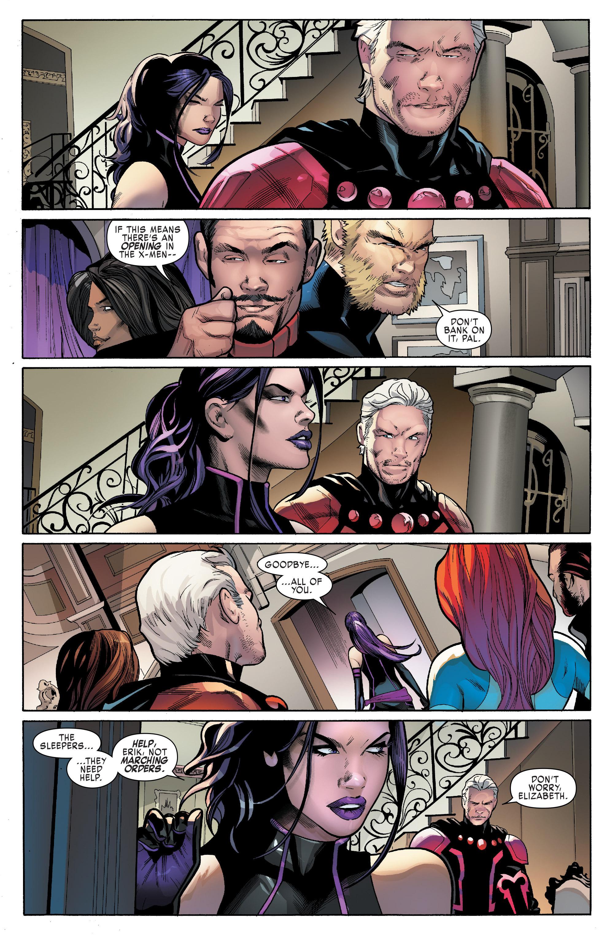 Read online Uncanny X-Men (2016) comic -  Issue #14 - 18