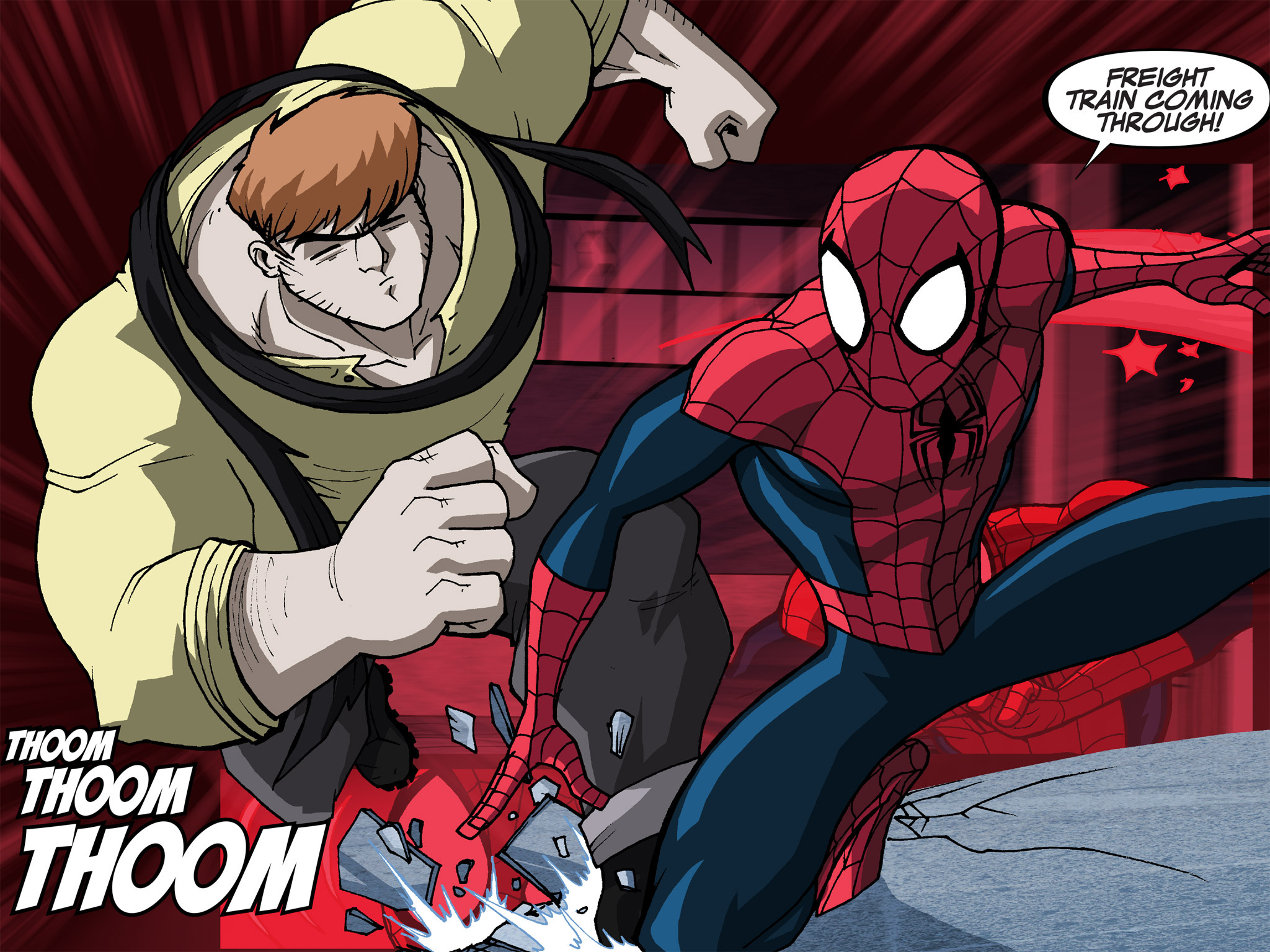 Read online Ultimate Spider-Man (Infinite Comics) (2015) comic -  Issue #14 - 32