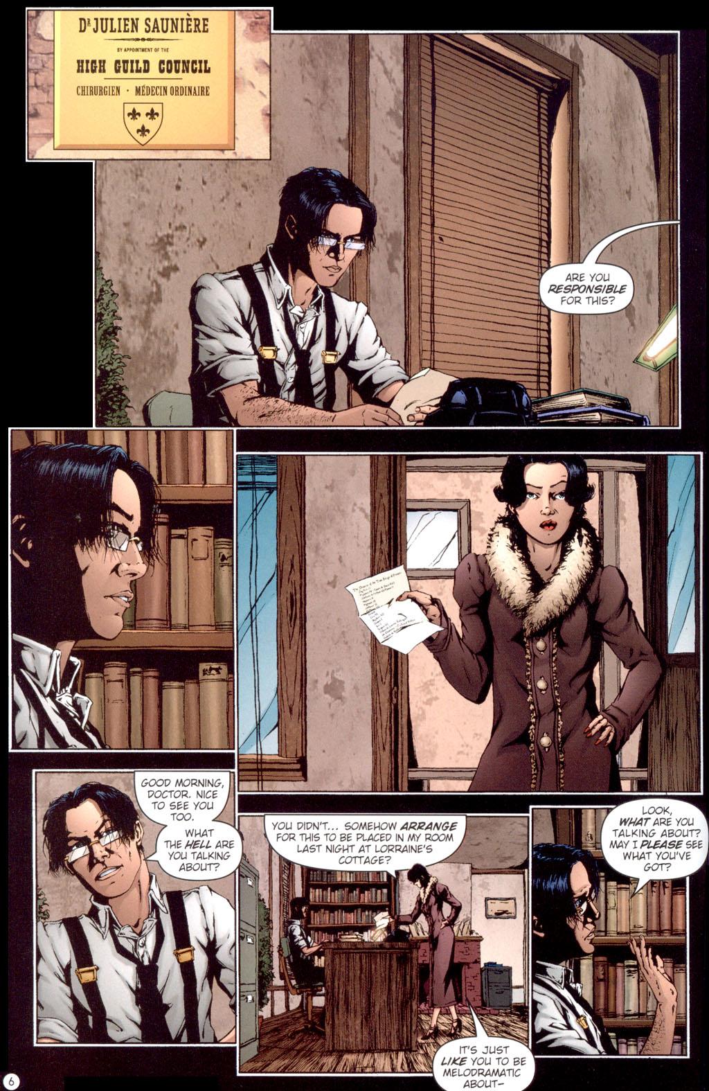 Read online Rex Mundi comic -  Issue #13 - 8