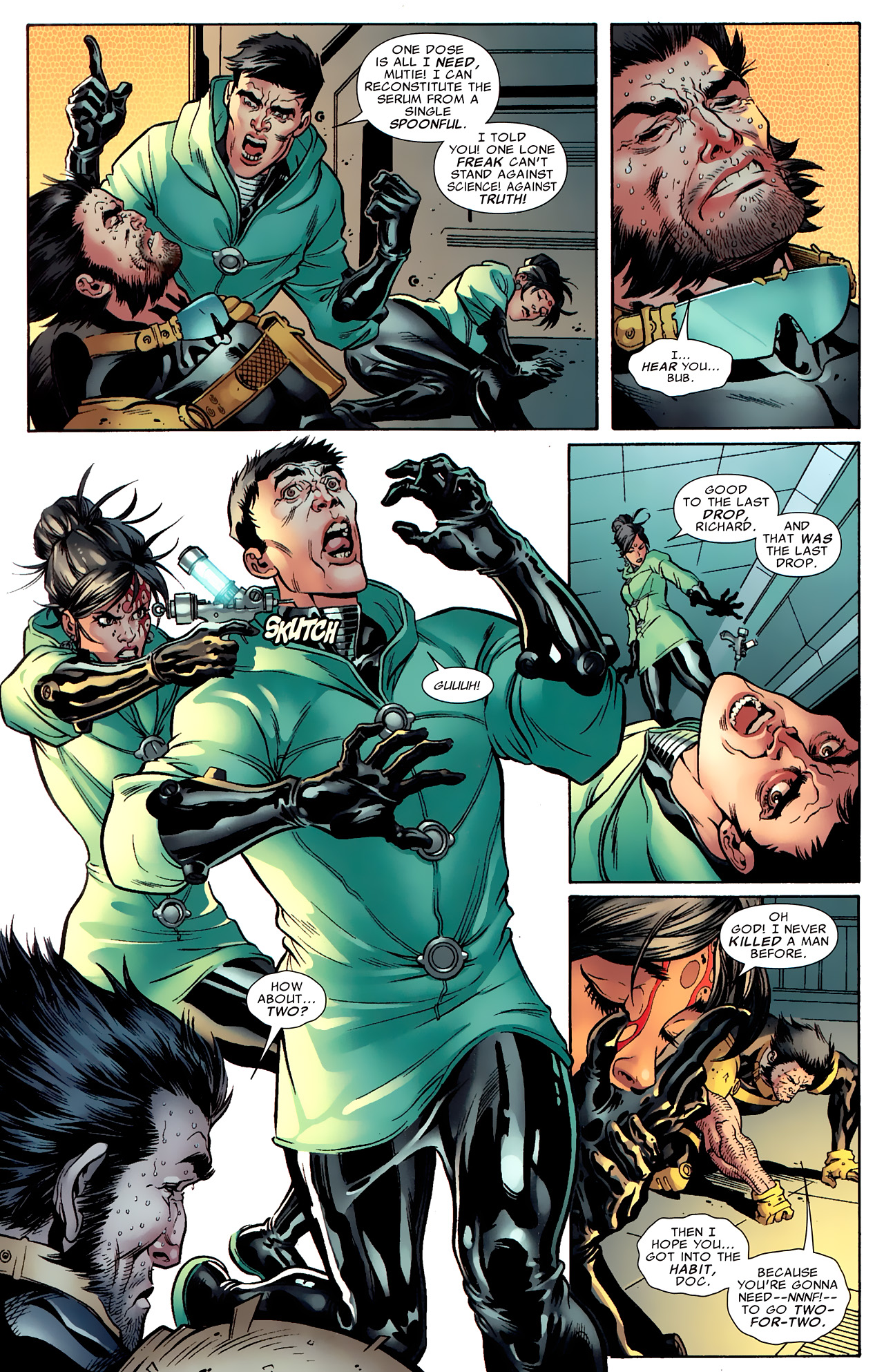 Read online Age of X: Alpha comic -  Issue #Age of X: Alpha Full - 31