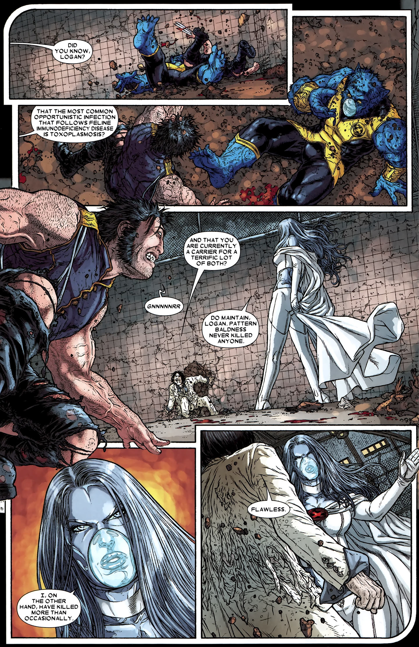 Read online Wolverine: The Best There Is comic -  Issue #12 - 7