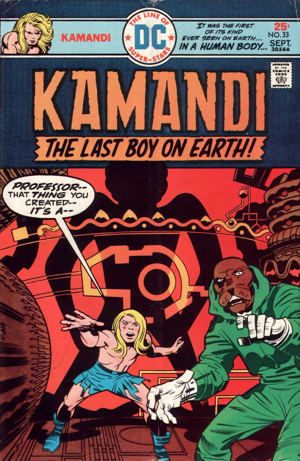 Kamandi, The Last Boy On Earth issue 33 - Page 1