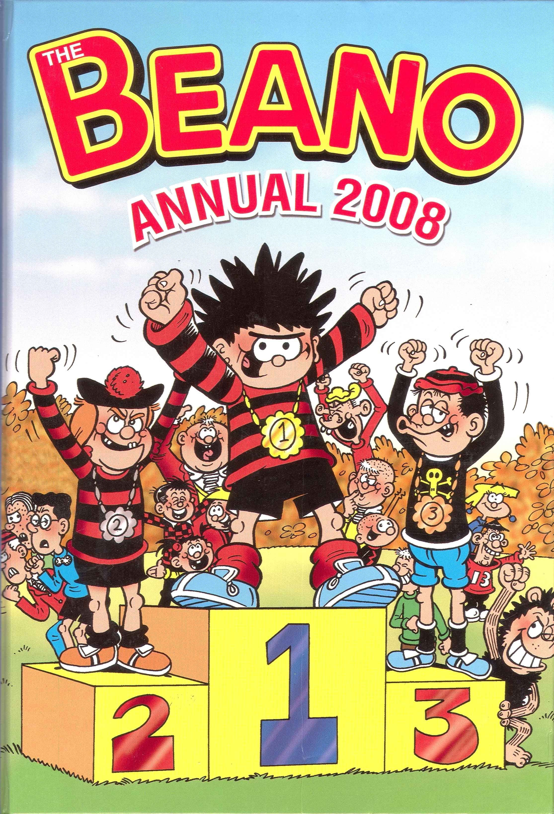 The Beano Book (Annual) 2008 Page 1