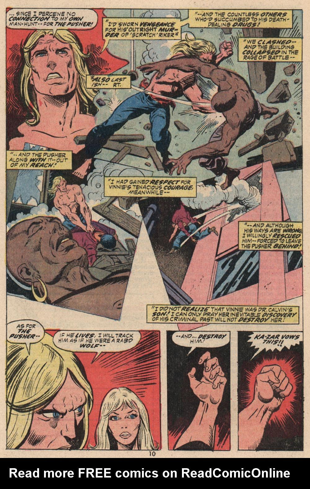 Read online Astonishing Tales (1970) comic -  Issue #16 - 8