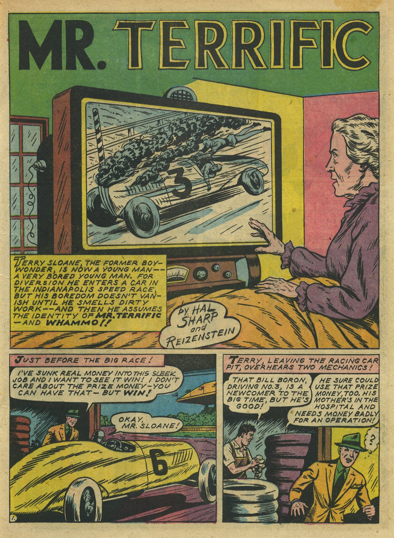 Read online Sensation (Mystery) Comics comic -  Issue #10 - 25
