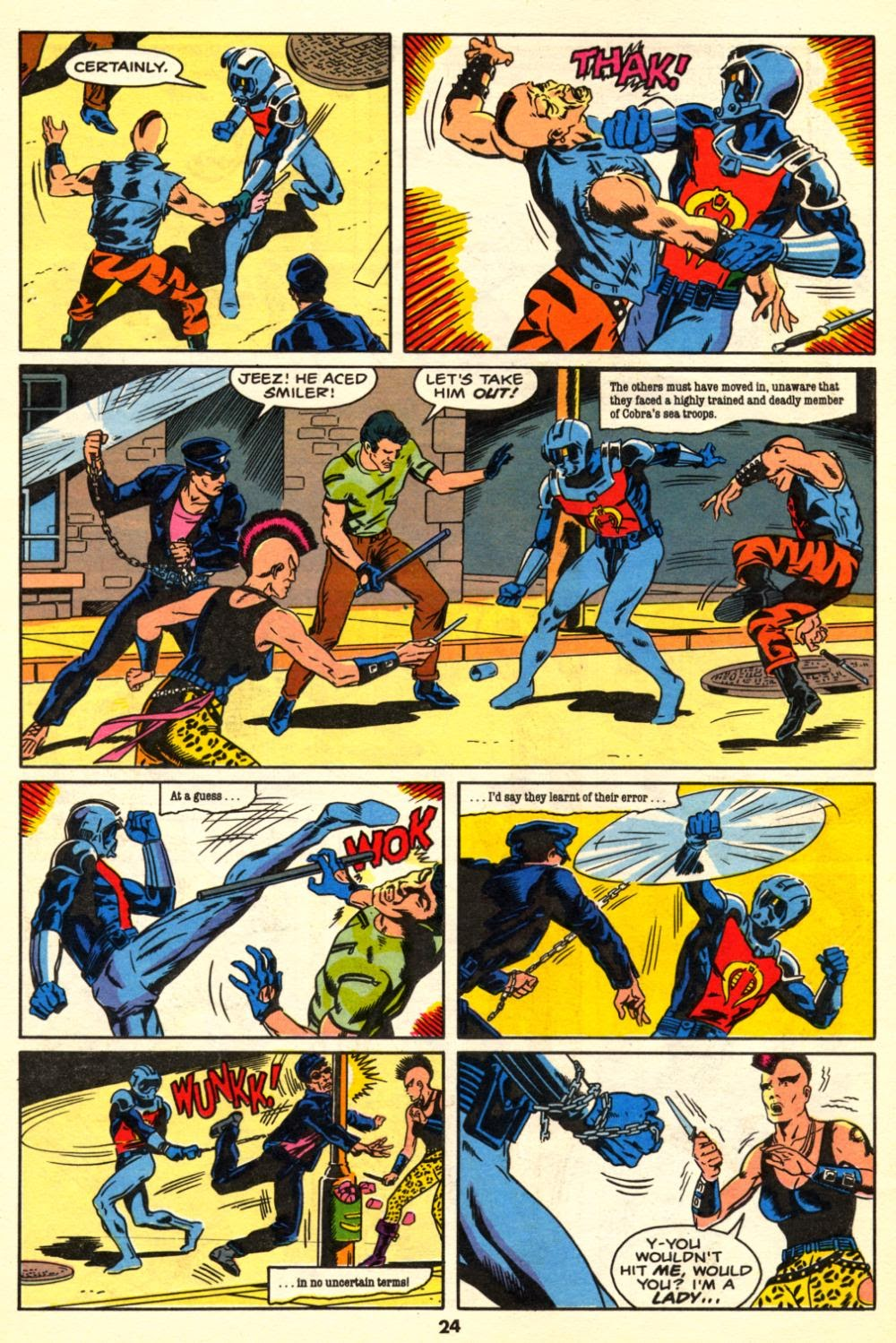 G.I. Joe European Missions issue 10 - Page 24