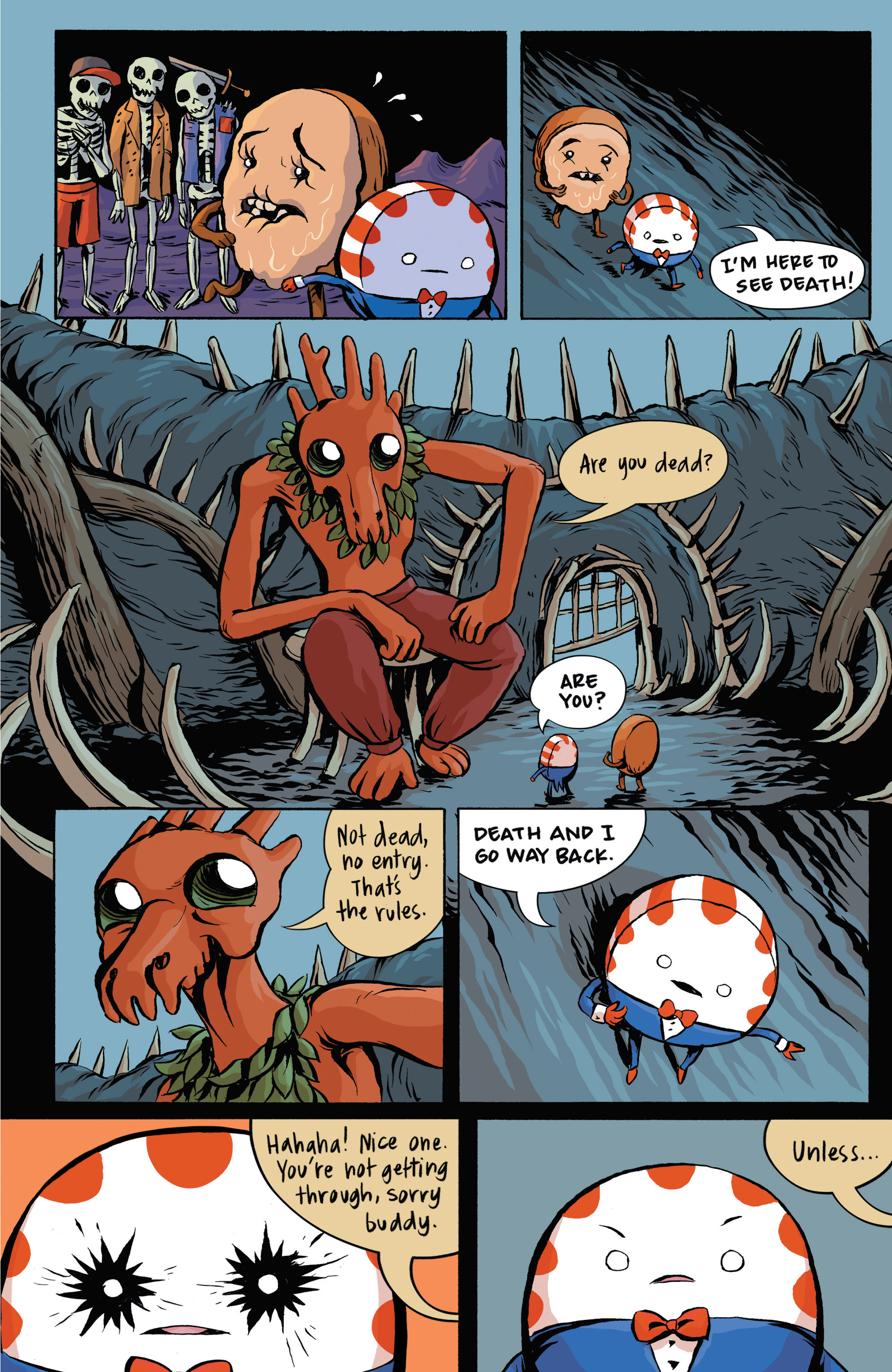 Read online Adventure Time: Candy Capers comic -  Issue #3 - 8