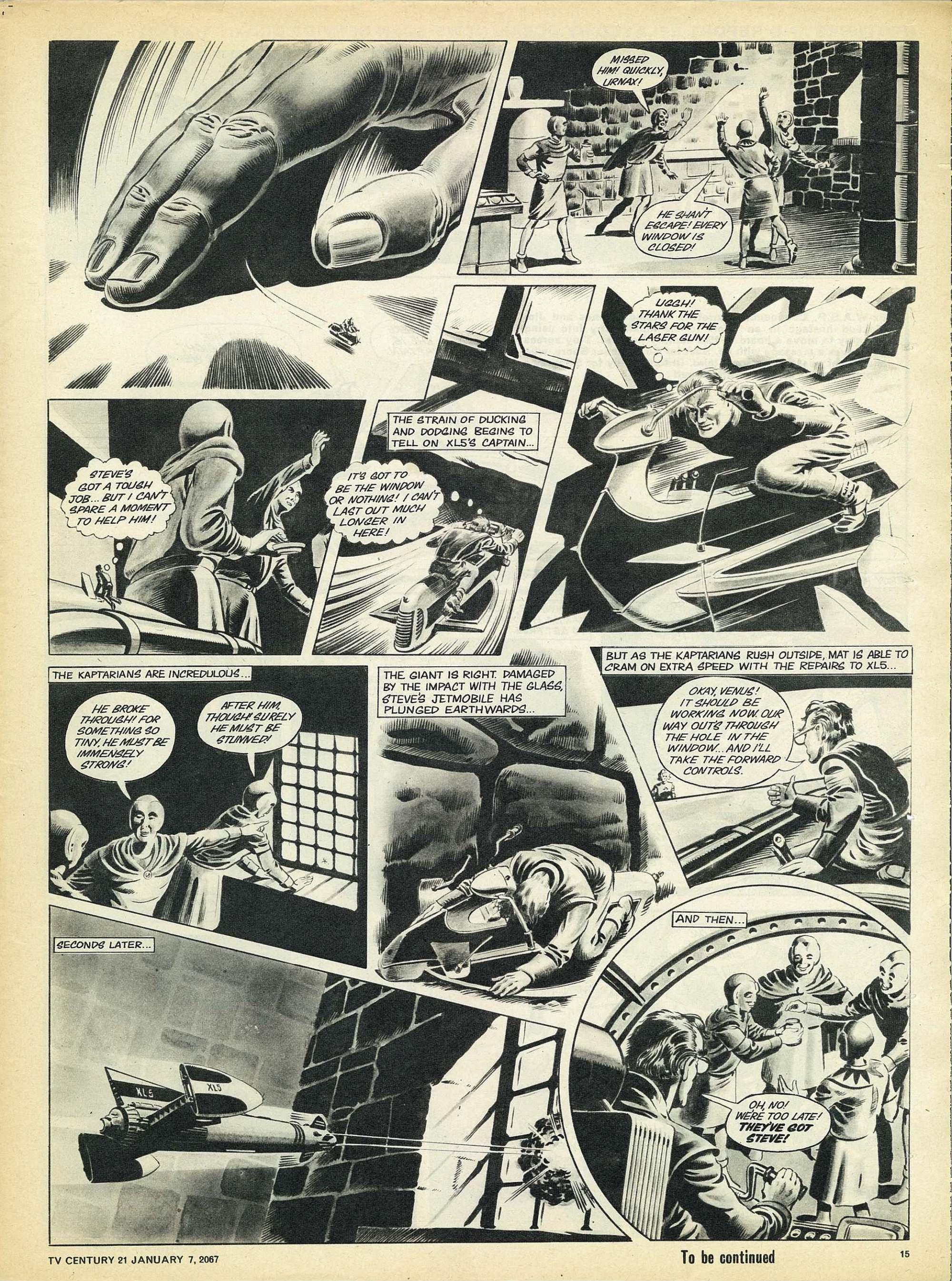Read online TV Century 21 (TV 21) comic -  Issue #103 - 14
