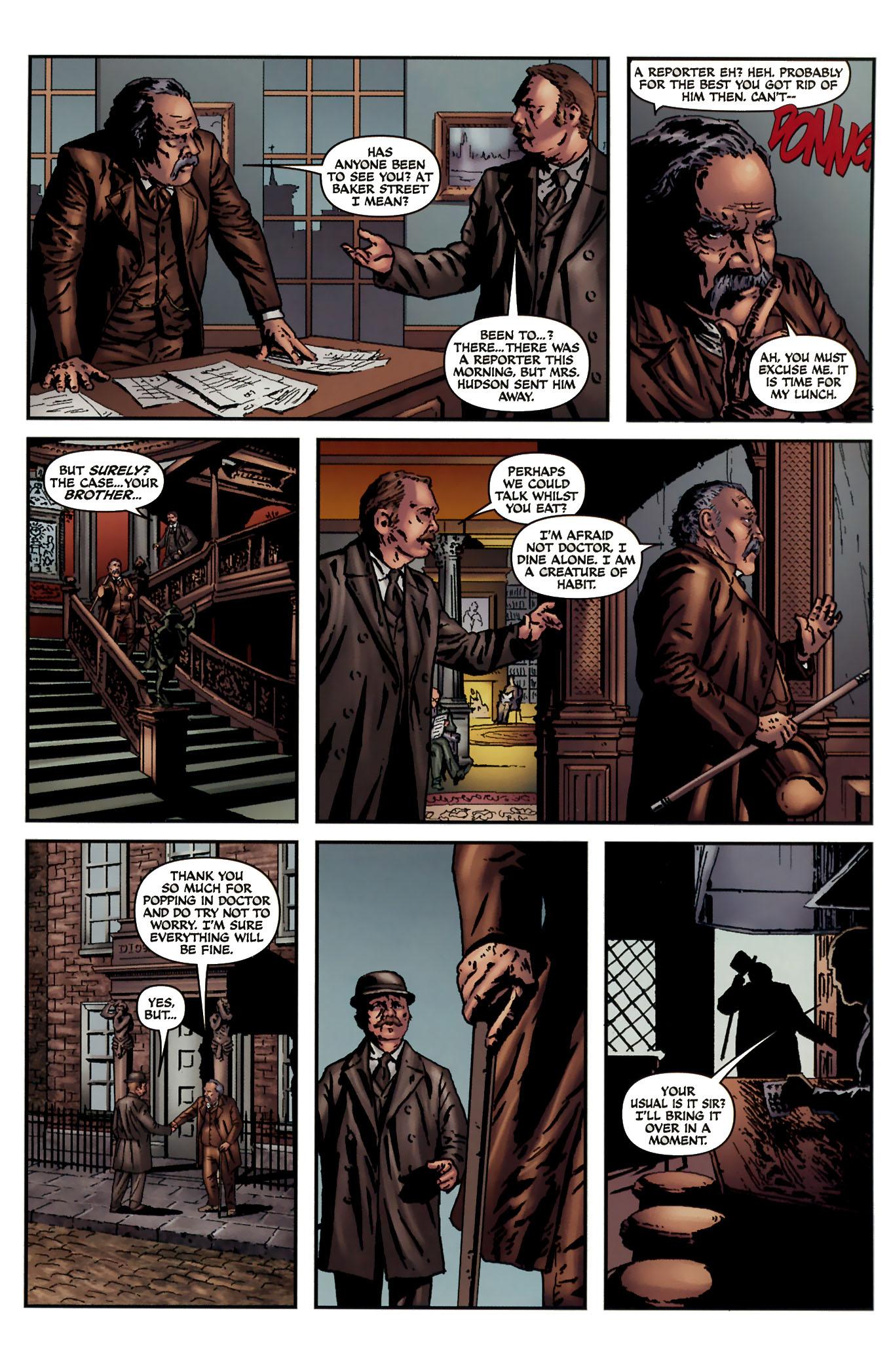 Read online Sherlock Holmes (2009) comic -  Issue #3 - 27