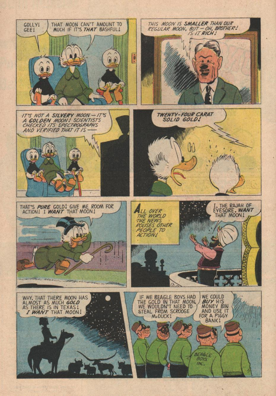 Read online Uncle Scrooge (1953) comic -  Issue #24 - 4