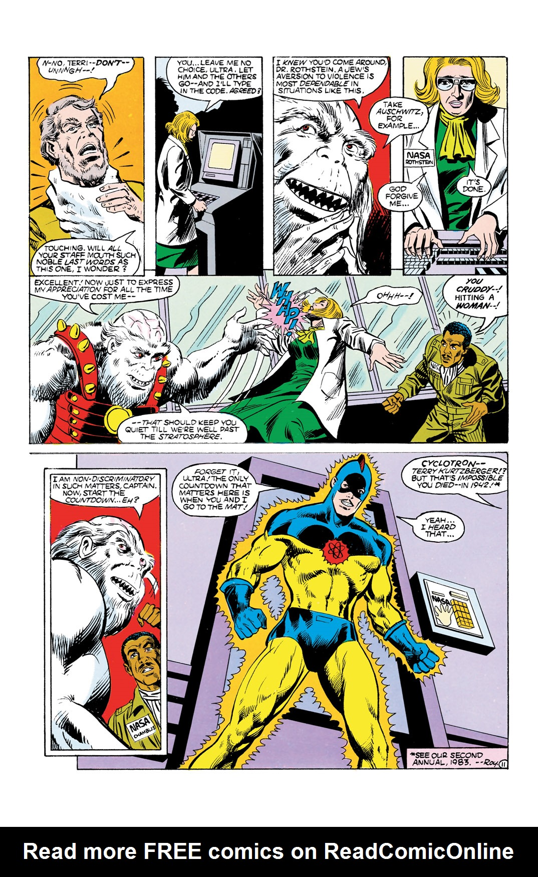 Read online All-Star Squadron comic -  Issue #55 - 12