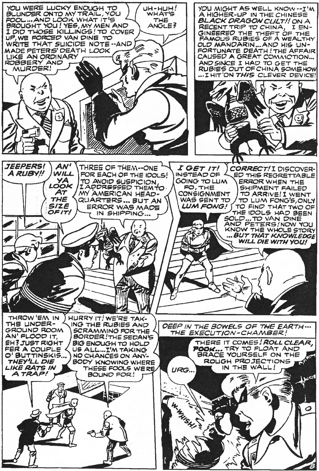Read online Men of Mystery Comics comic -  Issue #84 - 137