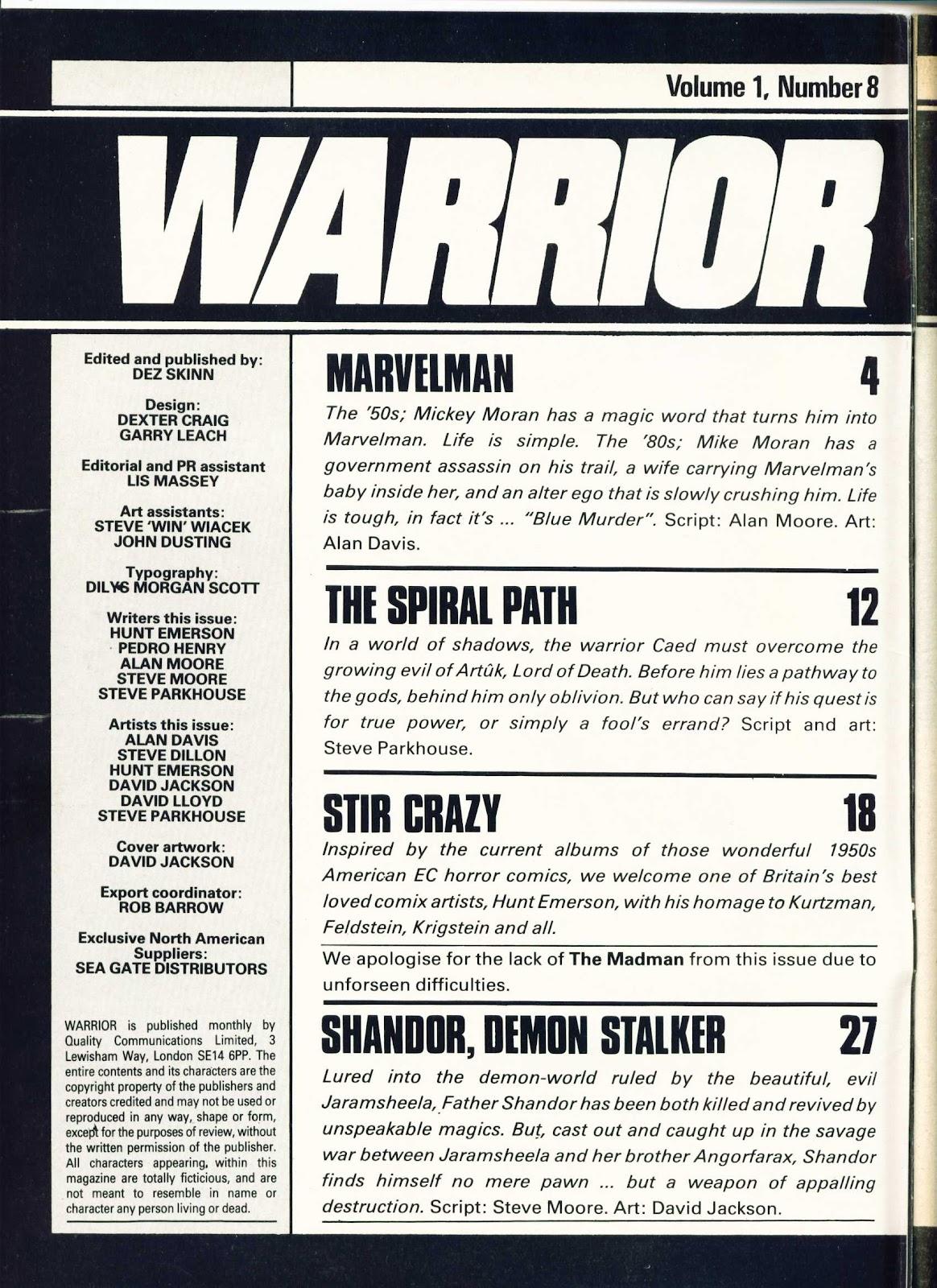 Warrior Issue #8 #9 - English 2