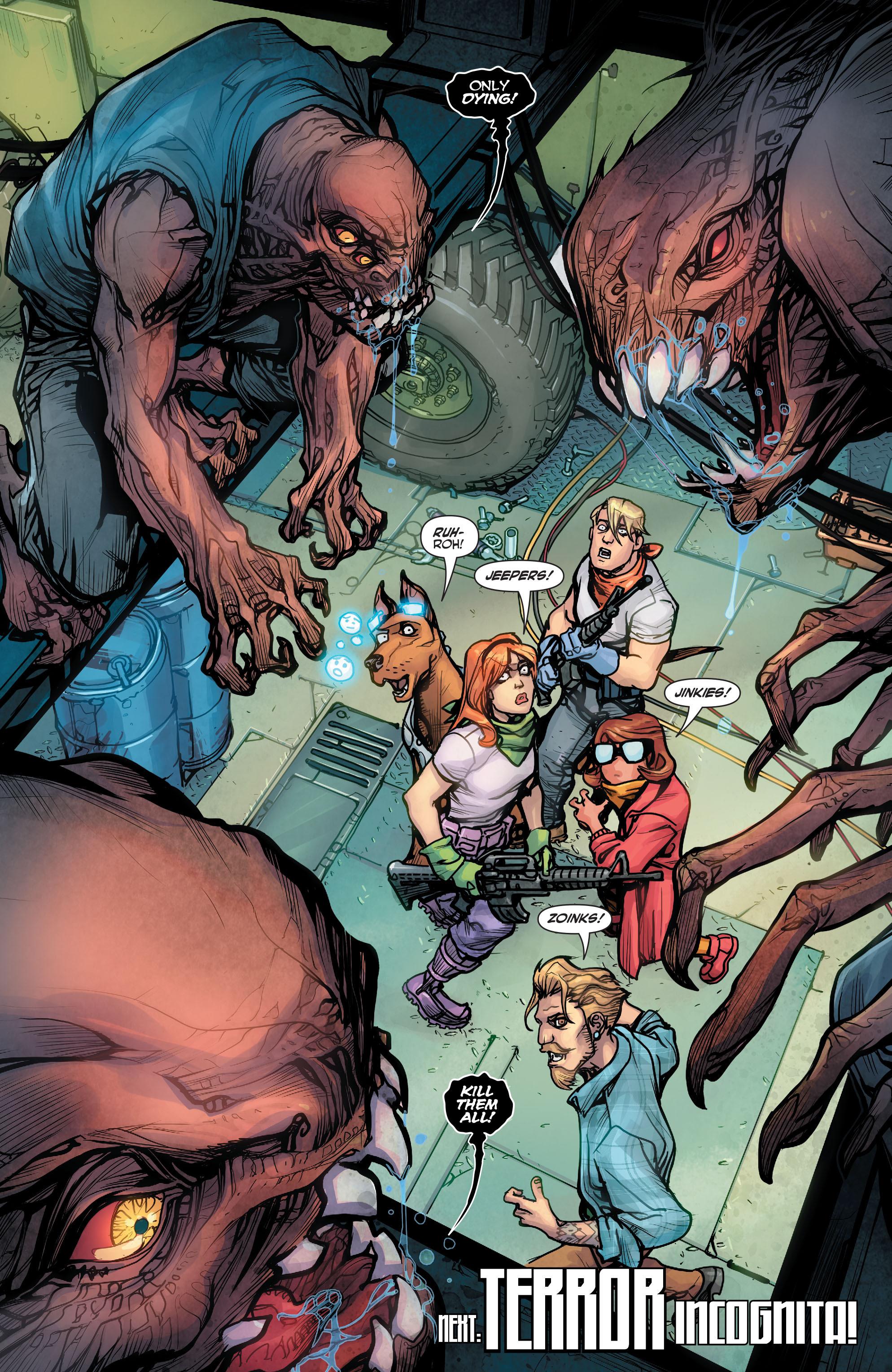 Read online Scooby Apocalypse comic -  Issue #2 - 25