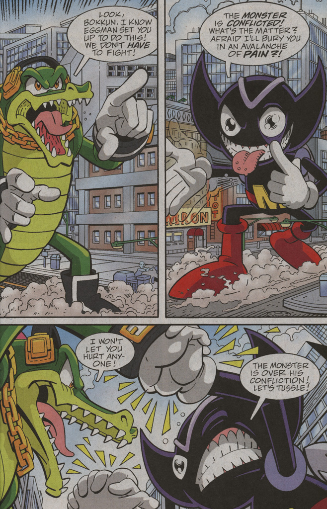 Read online Sonic X comic -  Issue #39 - 21