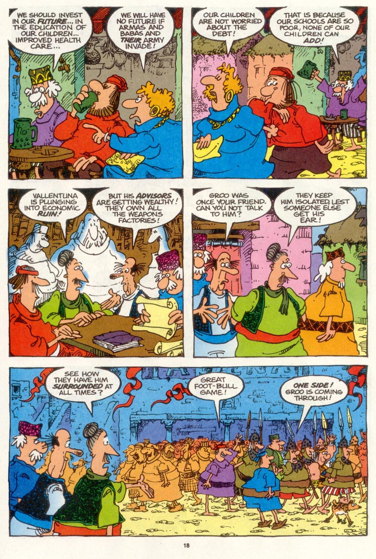 Read online Sergio Aragonés Groo the Wanderer comic -  Issue #109 - 20