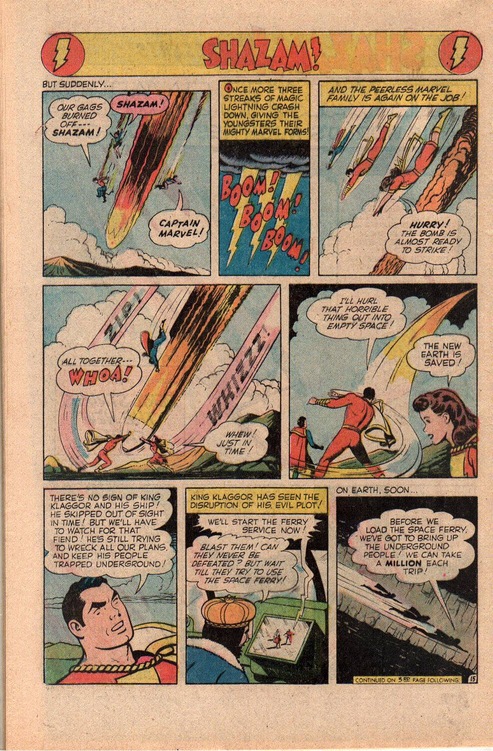 Read online Shazam! (1973) comic -  Issue #23 - 28