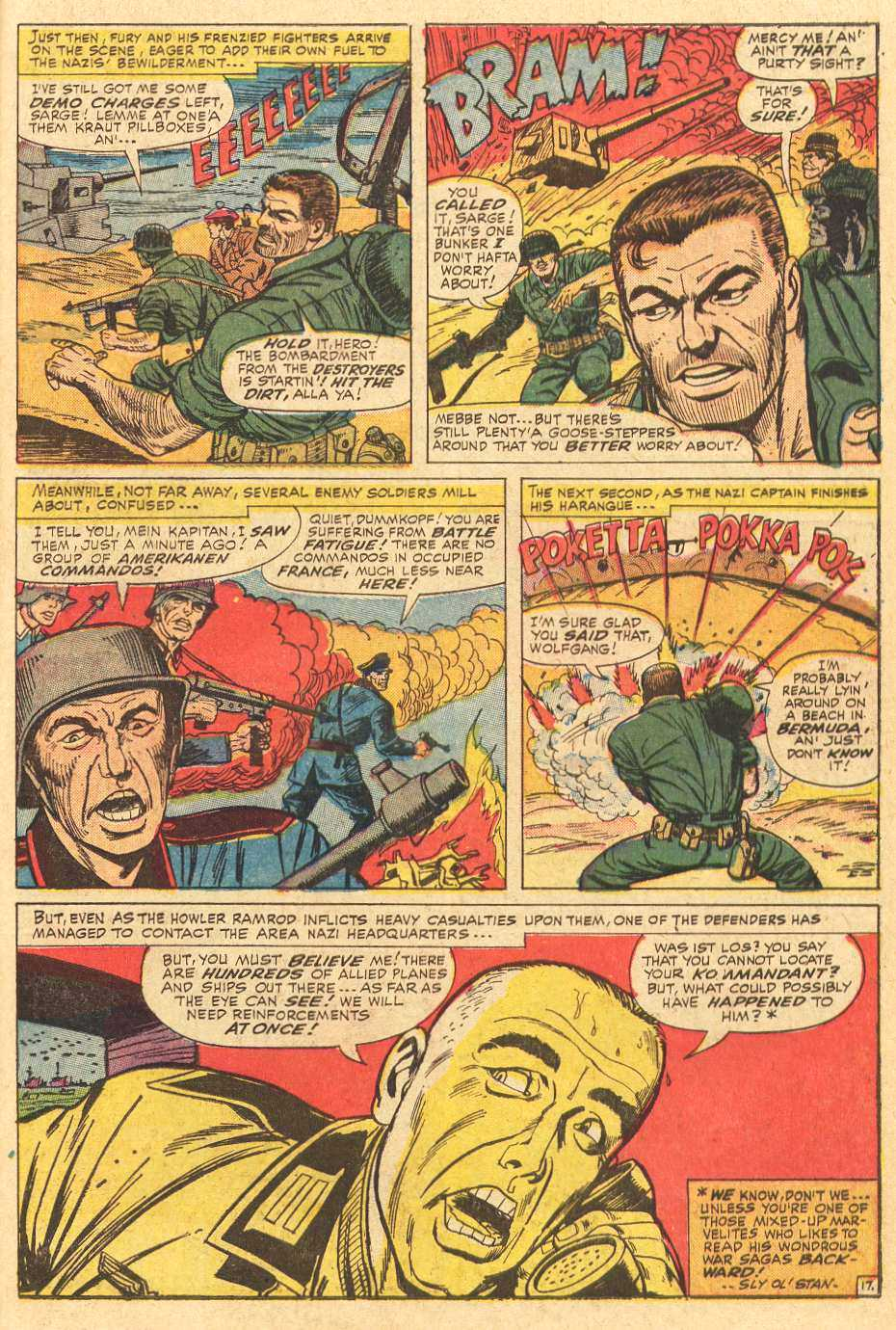 Read online Sgt. Fury comic -  Issue # _Special 2 - 19