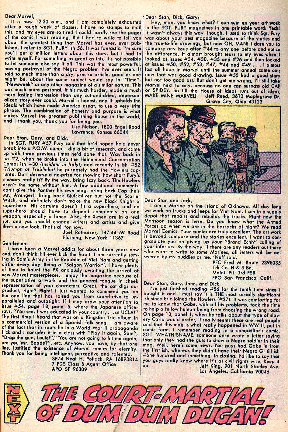 Read online Sgt. Fury comic -  Issue #59 - 33