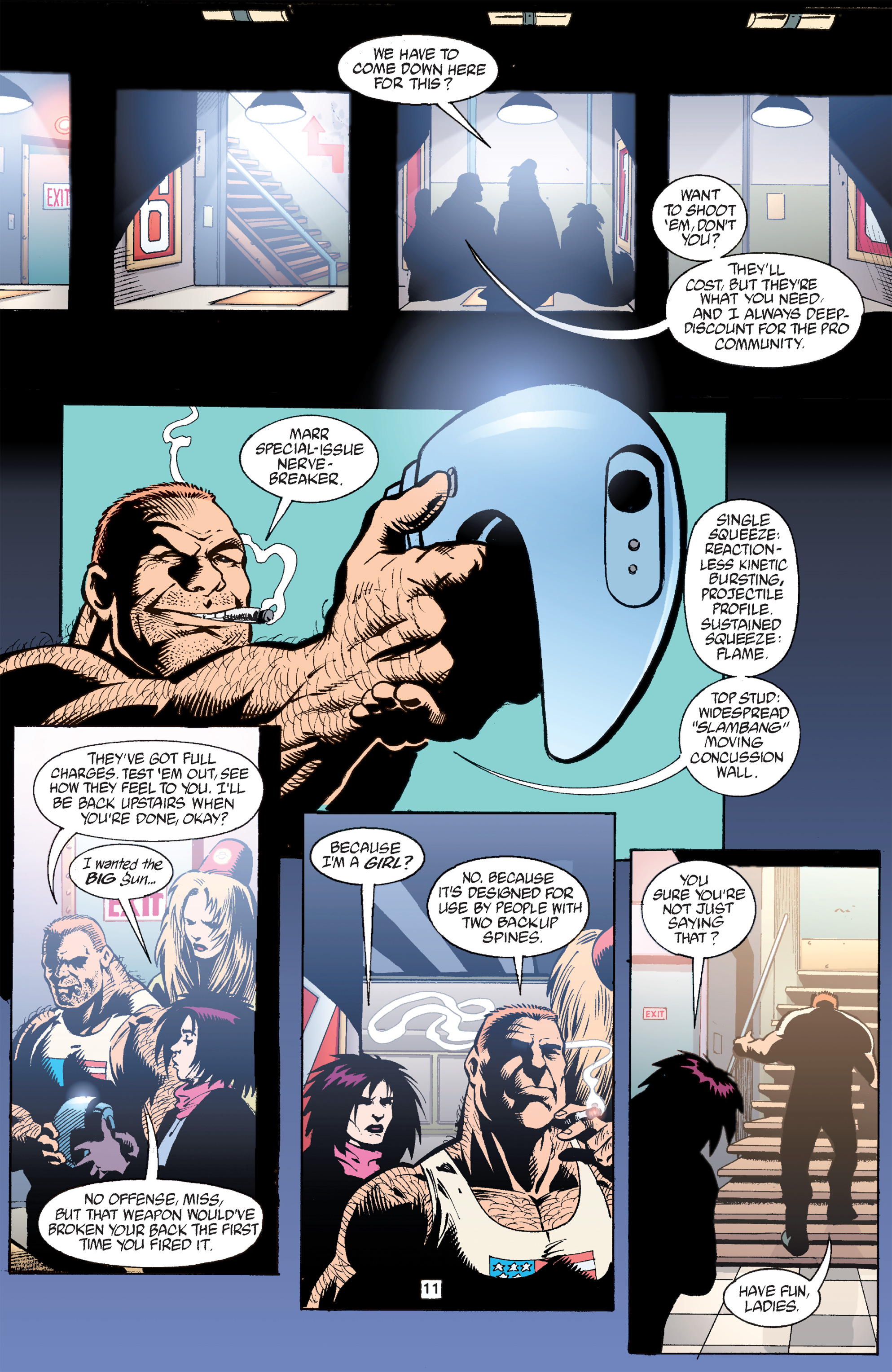Read online Transmetropolitan comic -  Issue #33 - 12