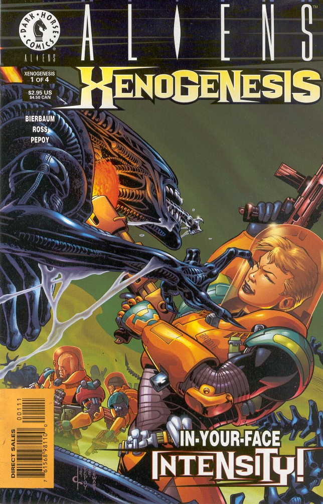 Read online Aliens: Xenogenesis comic -  Issue #1 - 1