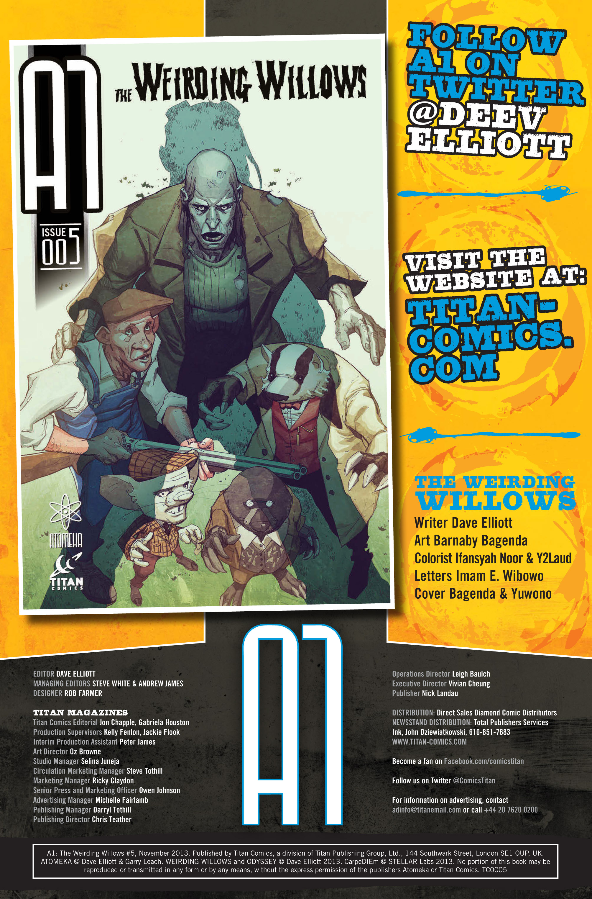 Read online A1 comic -  Issue #5 - 2