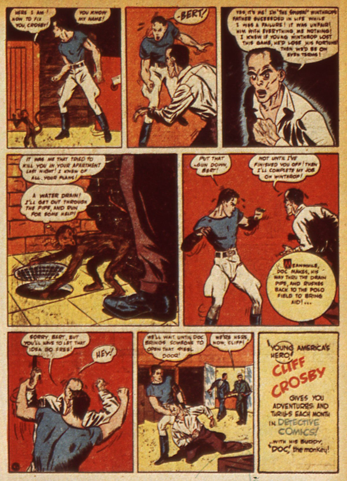 Read online Detective Comics (1937) comic -  Issue #45 - 57