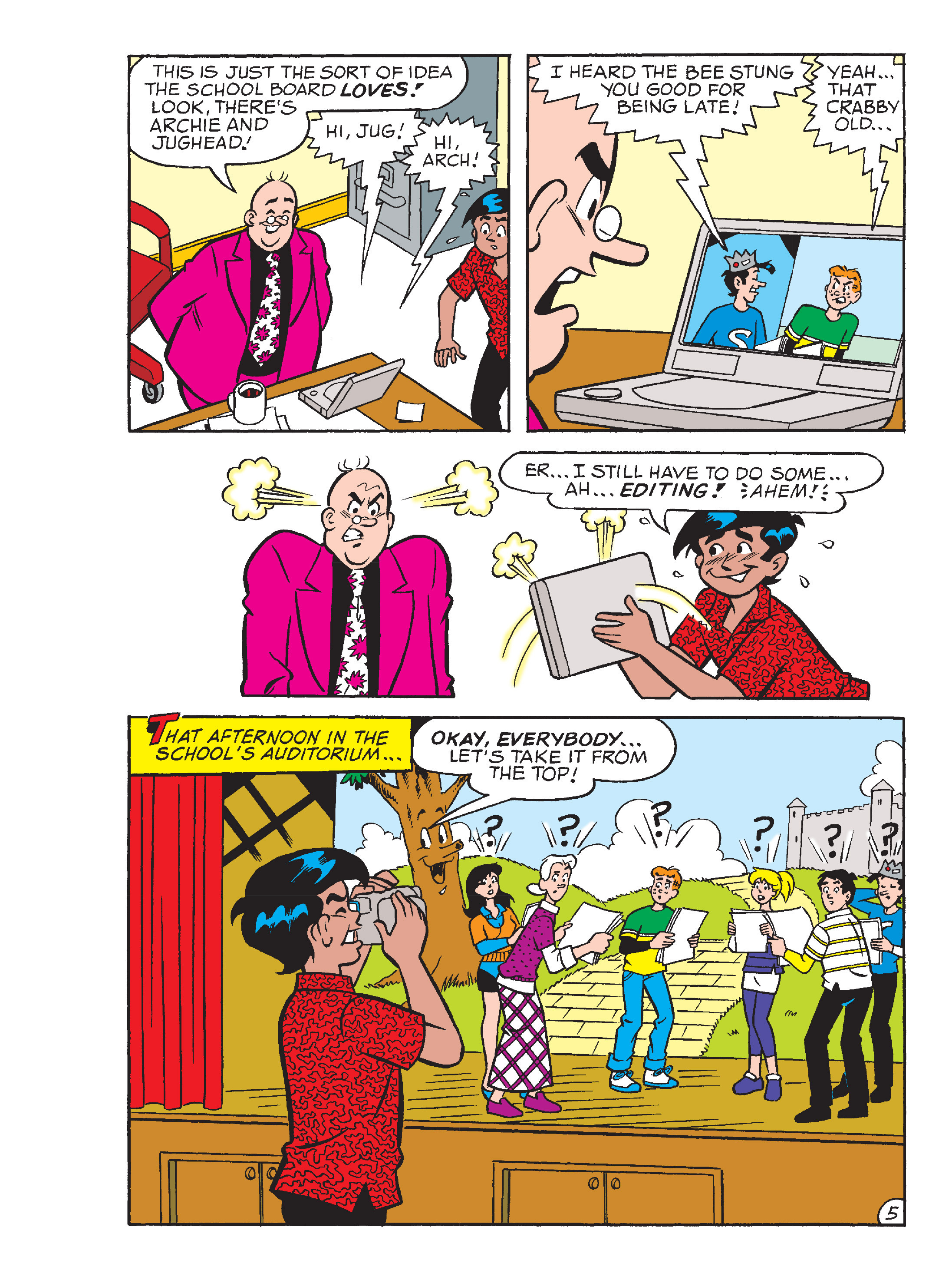 Read online Archie's Funhouse Double Digest comic -  Issue #13 - 28