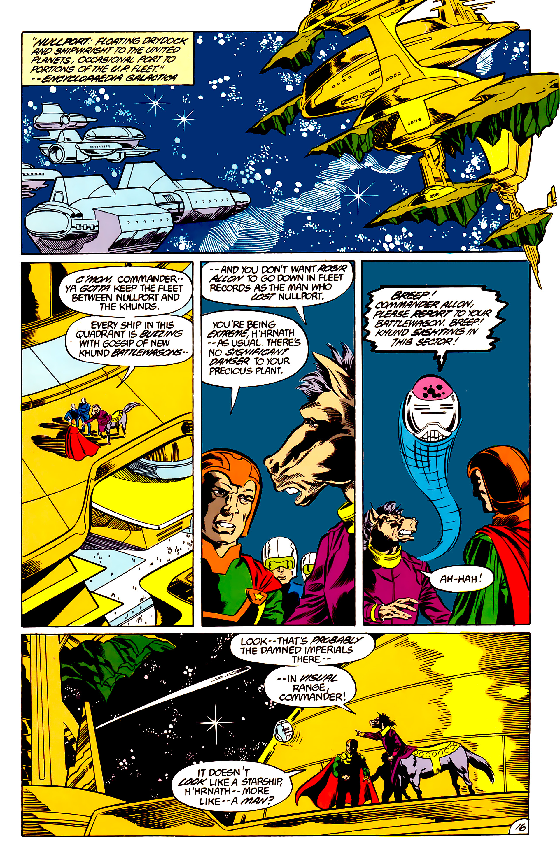 Legion of Super-Heroes (1984) 47 Page 16