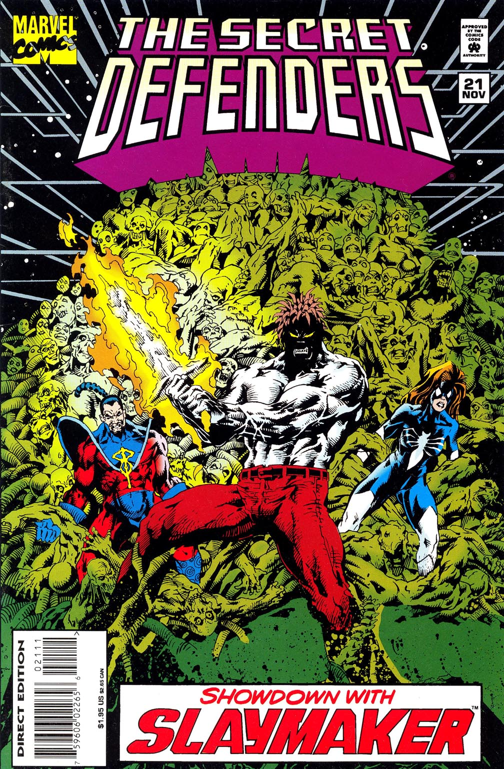 Read online Secret Defenders comic -  Issue #21 - 1