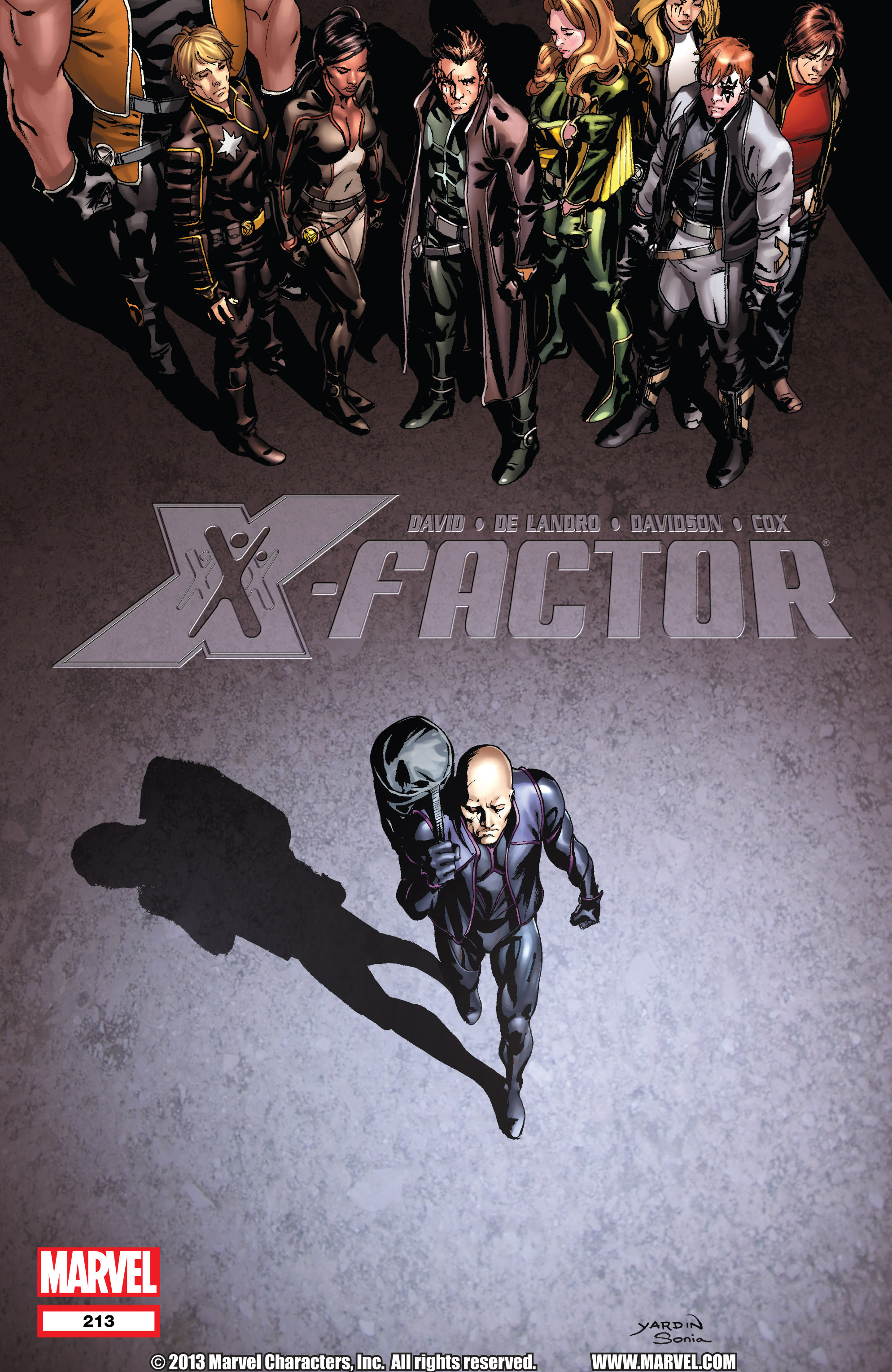 Read online X-Factor (1986) comic -  Issue #213 - 1