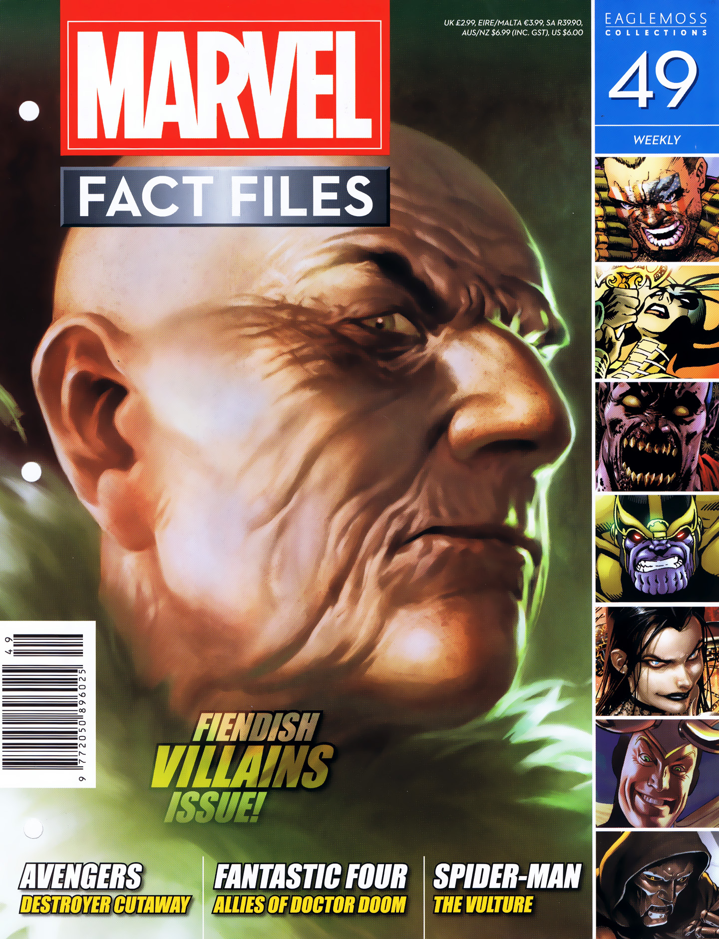 Marvel Fact Files 49 Page 1