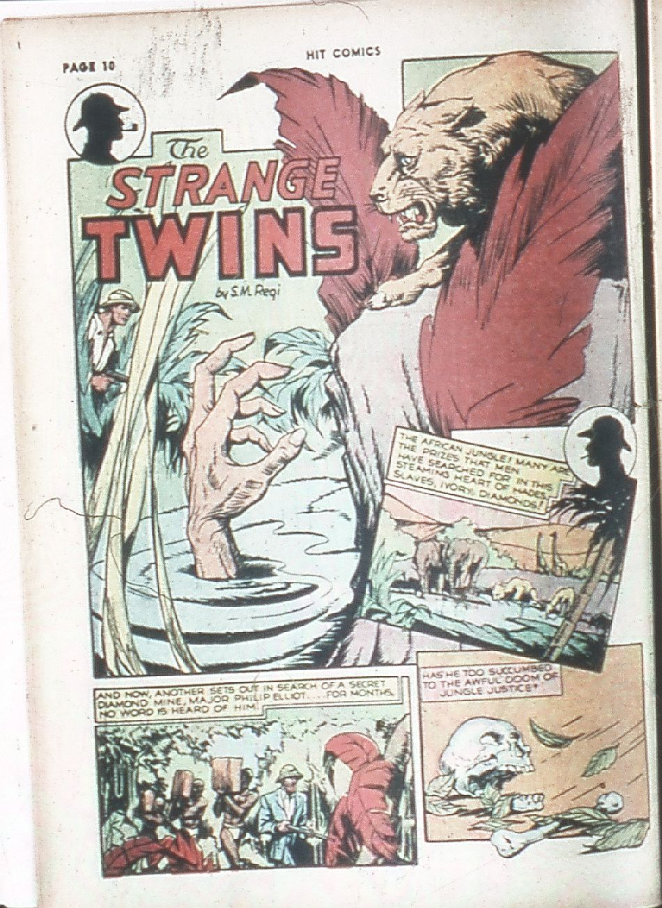 Read online Hit Comics comic -  Issue #7 - 12