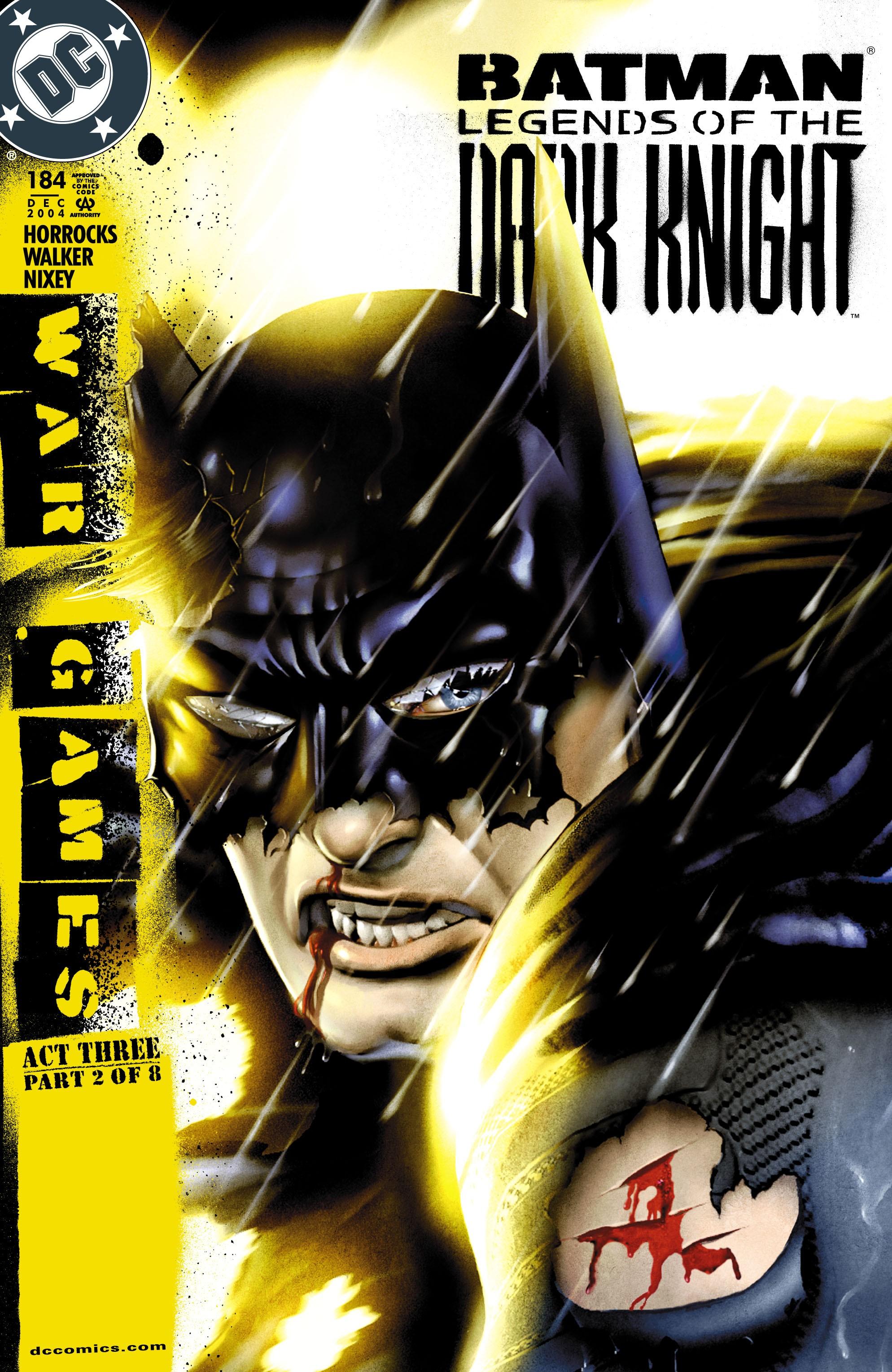 Batman: Legends of the Dark Knight 184 Page 1