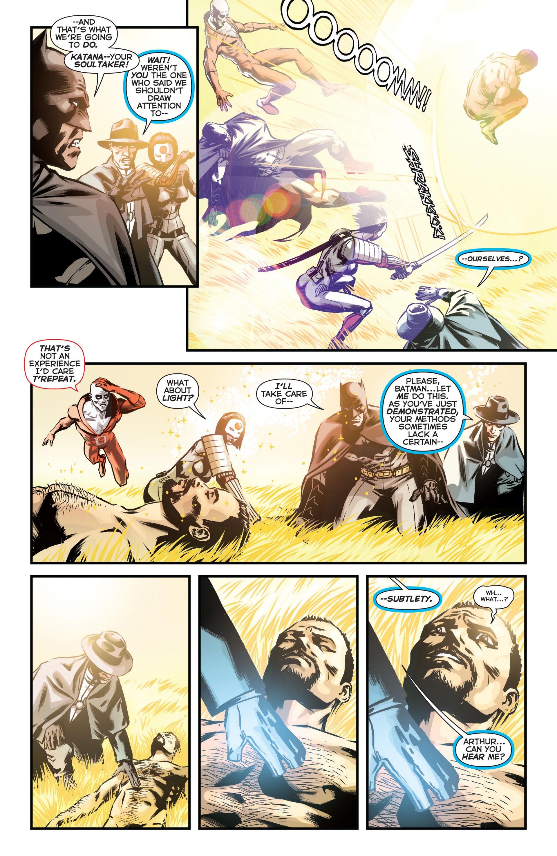Read online Trinity of Sin: The Phantom Stranger comic -  Issue #11 - 17