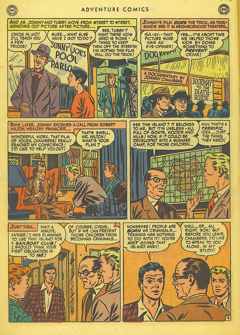 Read online Adventure Comics (1938) comic -  Issue #155 - 20
