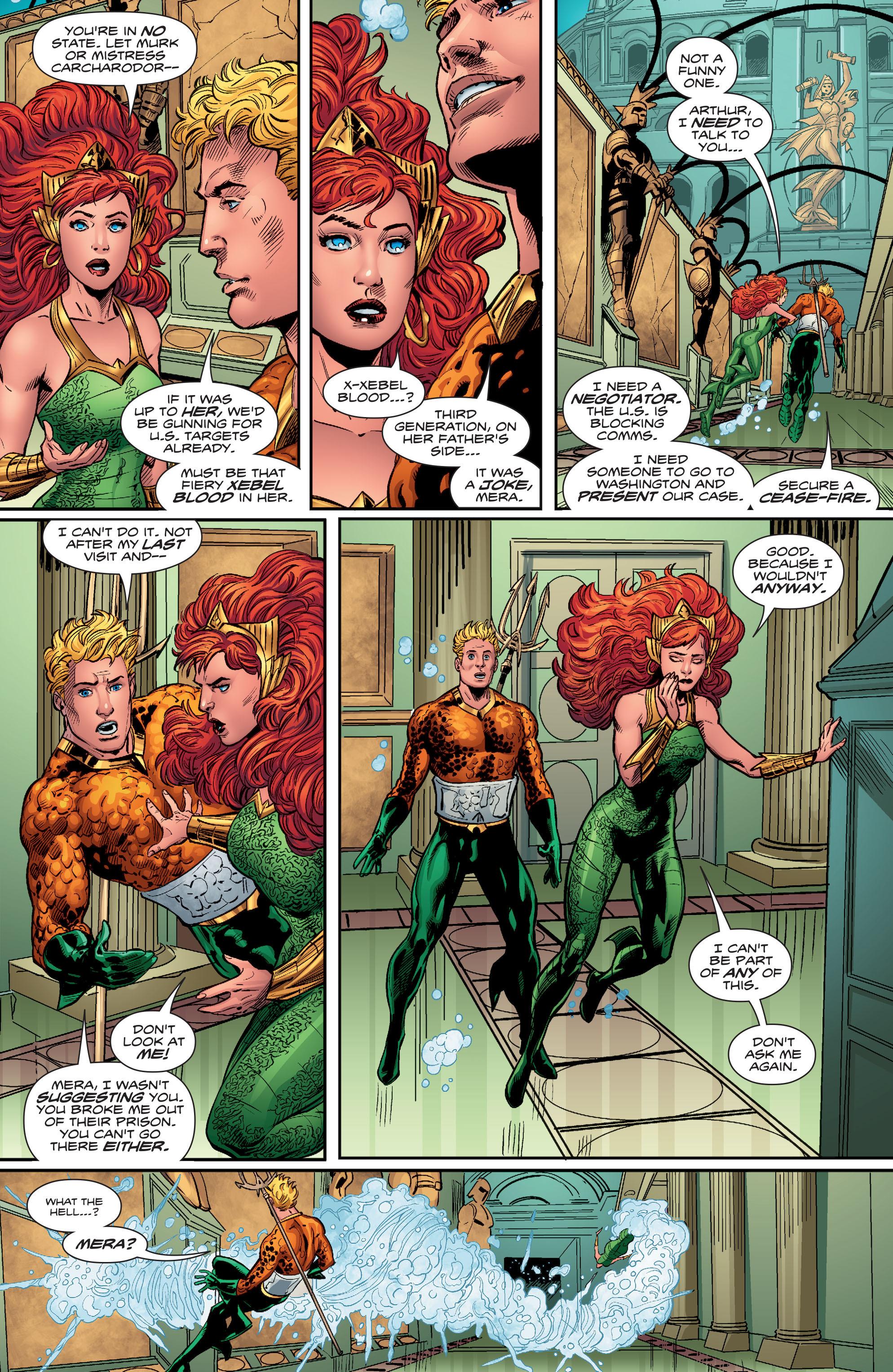 Read online Aquaman (2016) comic -  Issue #12 - 16