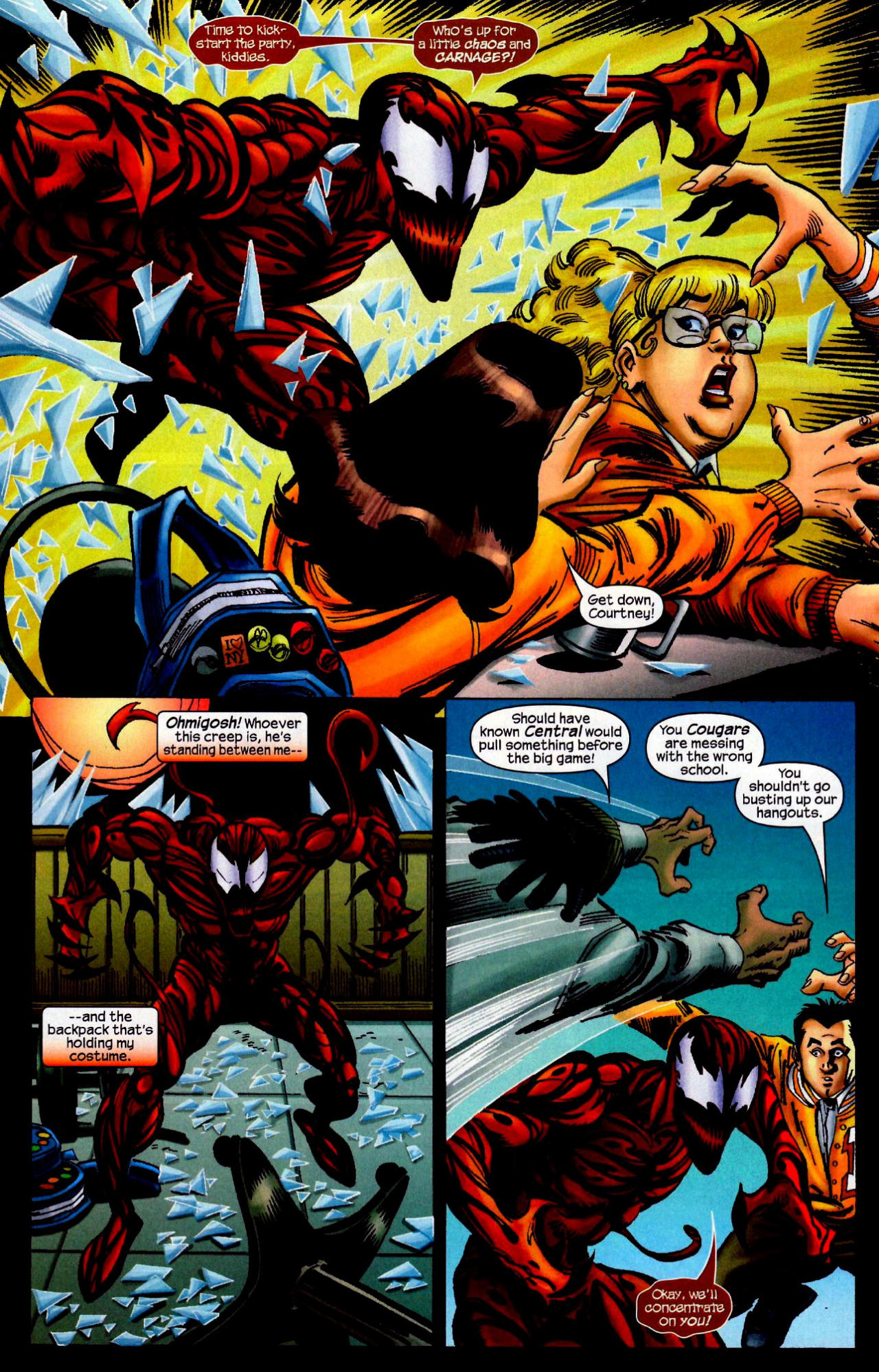 Read online Amazing Spider-Girl comic -  Issue #10 - 11
