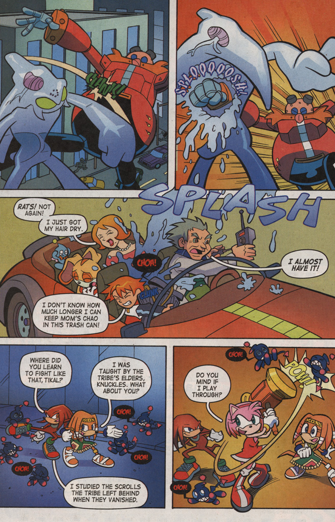 Read online Sonic X comic -  Issue #6 - 26