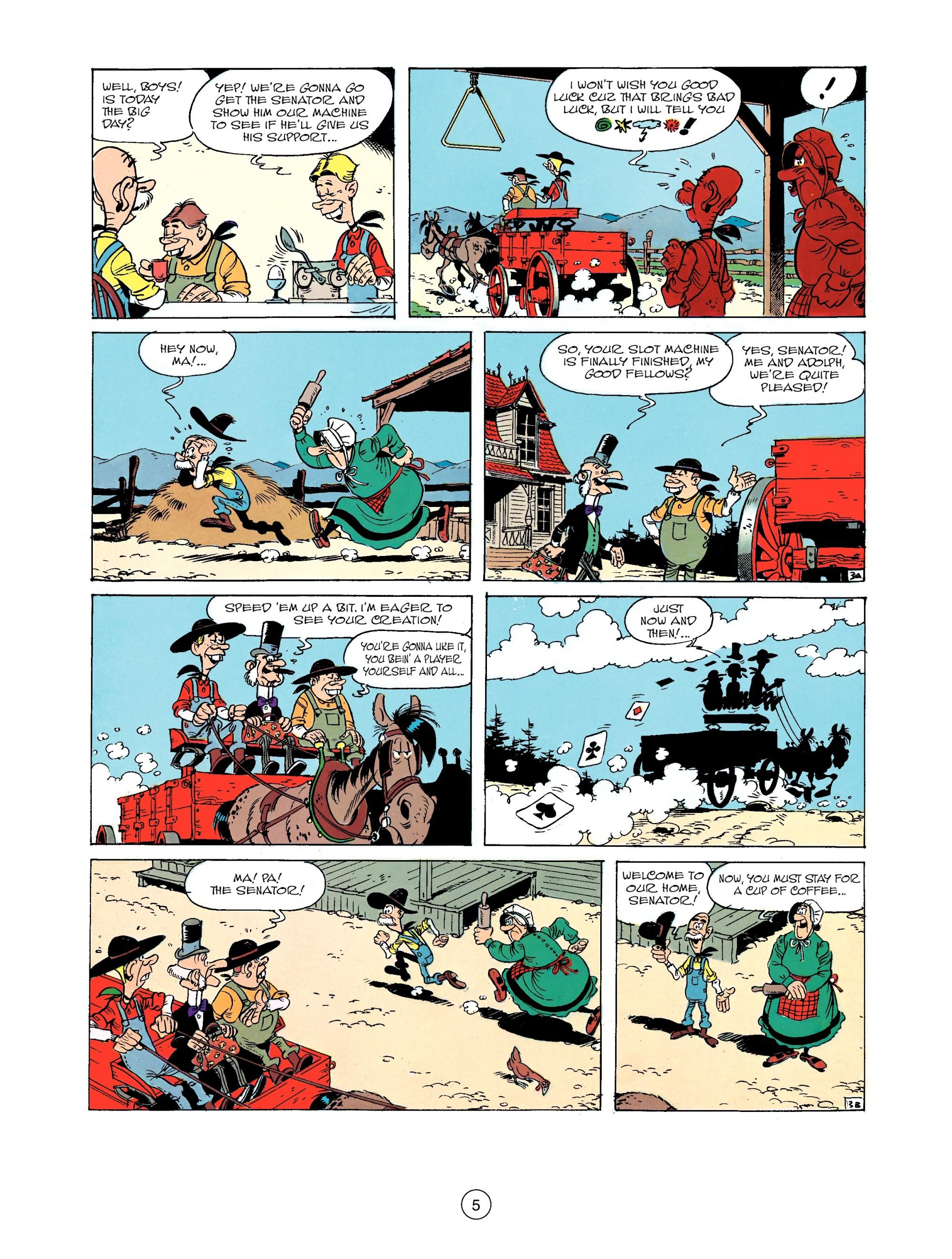 Read online A Lucky Luke Adventure comic -  Issue #33 - 5